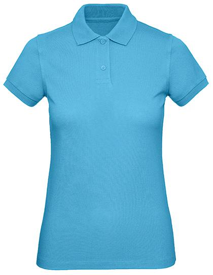 Frauen Polo in Bio Qualität Produktbild in Farbe