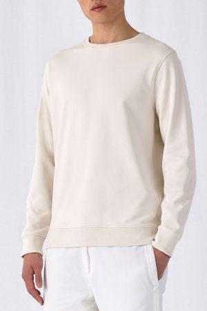 Herren Sweatshirt in Bio Qualität zum bedrucken & Besticken