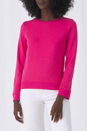 Frauen Sweatshirt in Bio Qualität zum bedrucken & Besticken