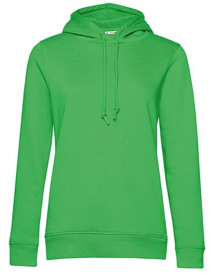 Frauen Hoody in Bio Qualität zum bedrucken & Besticken in Farbe Apple Green