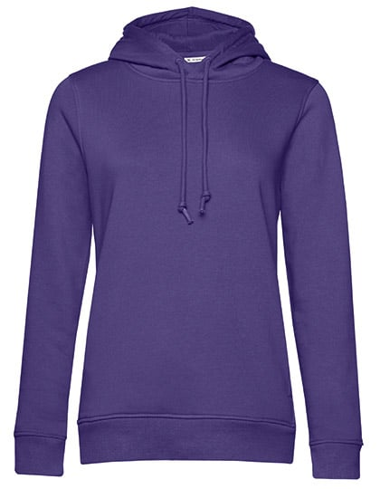 Frauen Hoody in Bio Qualität zum bedrucken & Besticken in Farbe Purple