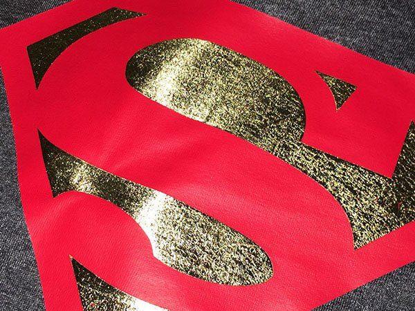 Funshirts Gold mit Rot