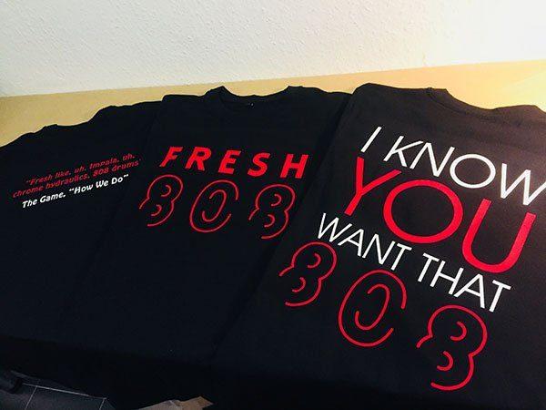 Tshirts für DJs Promotion